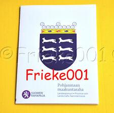 Finland - Finlande - 5 euro 2011 proof in blister.(Ostrobothnia)