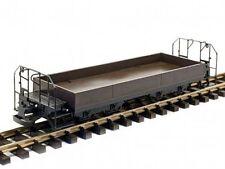 Train Line45 Niederbordwagen, braun, mit Bremserbühnen, Kunststoff-Radsätze, Spu