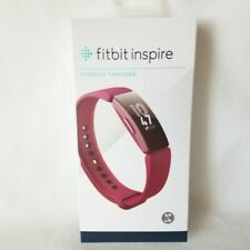 Fitbit Inspire Fitness Tracker Sangria Red Small and Large Wristbands NEW