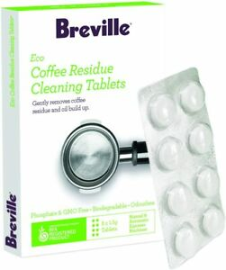Breville Eco Coffee Residue Cleaner Cleaning Tablets 8/16/24/32/40 Tab BES012