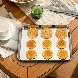 Home Toaster Cookie Dishes Kitchen Steamer Oven Tray Bake Pans Baking Sheets