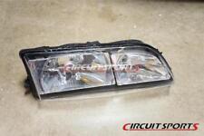 Circuit Sports Clear Headlight Covers V2 for Nissan 240SX Silvia 95-96 S14 Zenki