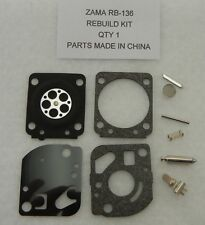 K65A K66 CARBURETOR REPAIR KIT FOR ZAMA RB K65 K67 CARB OEM KIT RB 112