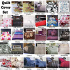 Accessorize Quilt Doona Duvet Cover Set SINGLE DOUBLE QUEEN KING