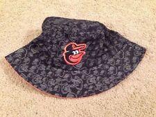Baltimore Orioles O's SGA 2014 Camo Bird Floppy Hat by Miller Lite Brand New