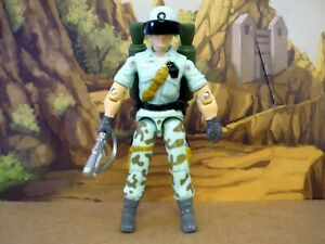 GI JOE STARDUSTER CUSTOM Vintage 1987 Style Figure COMPLETE w/ORIGIN COMIC SET
