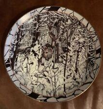 Where Paths Cross Diana Casey Silent Journey Plate #10720 Bradford Exchange 1994