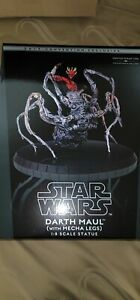 2019 SDCC Gentle Giant Darth Maul Spider-legs Collectors Gallery Statue #151/500