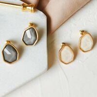 Resin Geometric Ear Stud Acrylic Earrings Long Drop Dangle Jewelry Boho Fashion
