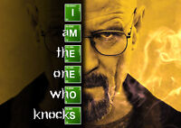 "Breaking Bad ""I Am The One Who Knocks"" Reproduction Poster, Home Wall Art"