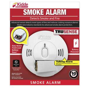 Kidde 2070-VDSR Battery-Powered Talking Smoke & Fire Alarm - New in Box