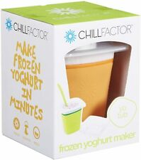 ChillFactor Frozen Yoghurt Iced Treat Maker, Orange