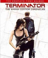 Terminator Sarah Connor Chronicles Season 1 Blu Ray DVD