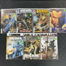 2019 DC Comics Batman and the Outsiders Comic Lot 6 Issues + Annual #1