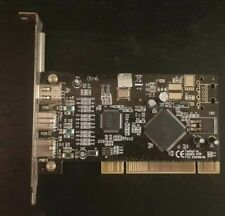 PCI 3 port Firewire 1394 Card Adapter TI Chips FW400 FW800