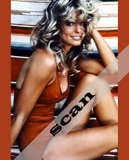 CHARLIE'S ANGELS FARRAH FAWCETT in red swim suit 8X10 PHOTO #1012