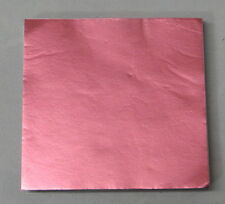 Dull Light Pink Candy Foil Wrappers Confectionery Foil 125 count FD25