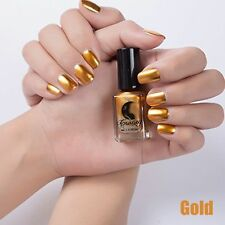 Mirror Magic Varnish Nail Art Polish Effect Metal Paint Chrome Manicure 4 Colors