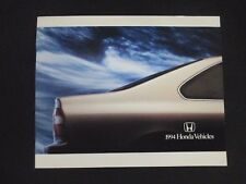 1994 HONDA VEHICLES DEALER SALES BROCHURE BOOK