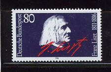 ALEMANIA/RFA WEST GERMANY 1986 MNH SC.1464 Franz Listz,composer