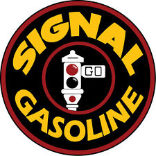 Large Round Signal Gas Motor Oil And Gasoline Sign with Stop Light