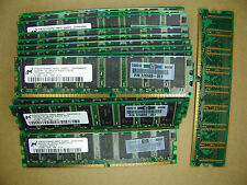 Micron/HP 2x512MB DDR PC3200 400mhz NonECC Unbuffered 184pin Desktop memory