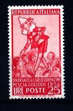 ITALIA REP. - 1955 - Onoranze a Carlo Lorenzini (Collodi) - 25 L. - Pinocchio