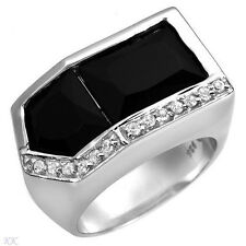 Lovely New Ring With 10.20ctw Cubic zirconia in 925 Sterling Silver