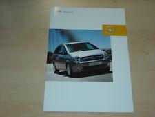 36342) Opel Meriva Polen Prospekt 2003