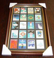 Juegos Olímpicos de Invierno Cartel Trading Card Set