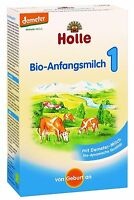 Holle Organic Baby Infant Newborn Formula Stage 1 (0-6 months) - FAST SHIPPING!