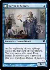 DELVER OF SECRETS Innistrad MTG Blue Creature—Human Wizard Com
