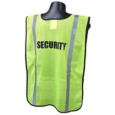 Full Source Reflective Security Safety Vest, Yellow/Lime