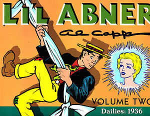 "Li'l Abner Vol 2-1988-Strip Reprints Soft Cover ""Dailies: 1936 """