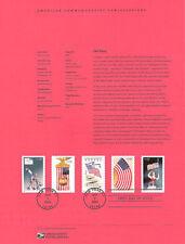 #0314 37c Old Glory Booklet #3776-3780a Souvenir Page