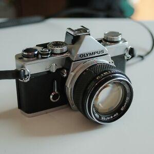 Olympus OM1 con obiettivo Zuiko 50mm f/1.4