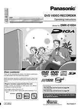Panasonic DMR-E100H DVD Recorder Owners Instruction Manual