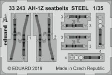 Eduard Zoom 33243 1/32 Bell AH-1Z Shark Mouth seatbelts STEEL ACADEMY (1/35)