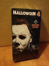Halloween 4 VHS *SEALED* New in Plastic Return of Michael Myers RARE