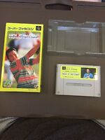 RARE IN BOX--Hole In One Nintendo Super Famicom 1991 In Box
