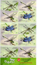 Australia 2017 MNH Dragonflies 10v S/A Booklet Dragonfly Insects Stamps