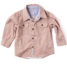 Boys' Casual Geometric Print 100% Cotton Shirts (2-16 Years)