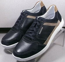 FILIPE BLACK MMSP75 Men's Shoes Size 8.5 Eur 8 Leather Casual Lace up  Mephisto