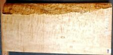 Quilted Maple Instrument Wood #8521 Luthier 5A Exhibition Grade 24x 11 x 2.875