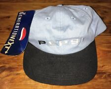 Pepsi Hat Cap Generation Next Embroidered 90s Light Blue Soda Cola Baseball