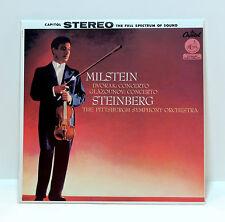 NATHAN MILSTEIN Dvorak & Glazounov Violin Concertos 180-gram VINYL LP Steinberg