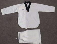 Nike Men's Small Taekwondo Elite Uniform, White / Black