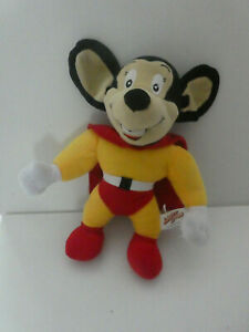 """15"""" MIGHTY MOUSE SOFT PLUSH TOY  -  2010"""