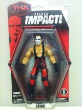 TNA WWE STING DELUXE IMPACT SERIES 1 WRESTLING FIGURE WRESTLEMANIA -  LOOSE