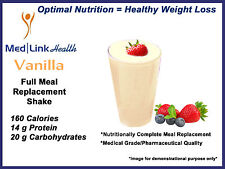 VANILLA POWDER SHAKES Weight Loss   6 Boxes   SIMILAR TO Optifast® 800